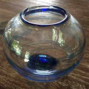 Glassbolle ca. 20cm bred